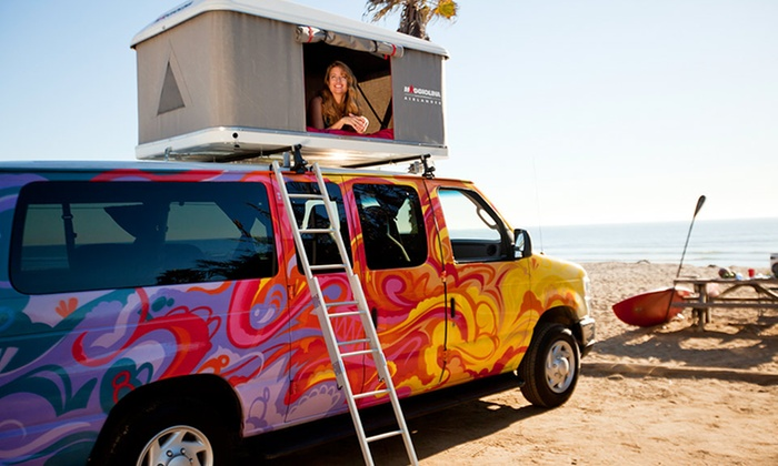 Escape Campervans - San Francisco, Los Angeles, or Las Vegas: 5- or 7-Day Camper Van Rental from Escape Campervans. Available for Pick-Up in San Francisco, Los Angeles, or Las Vegas.