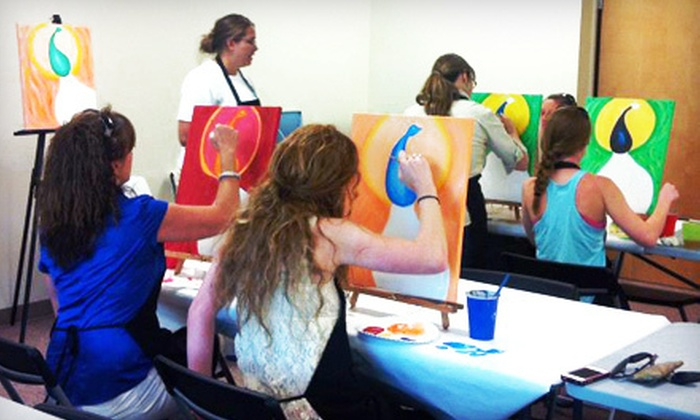 abc ART - Alcoa: One or Two BYOB Painting Classes, or a Private Painting Party for Up to 15 at abc Art (Up to 62% Off)