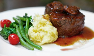 The Hunt Room: Steak and Seafood for Two or Four at The Hunt Room (Up to 50% Off)