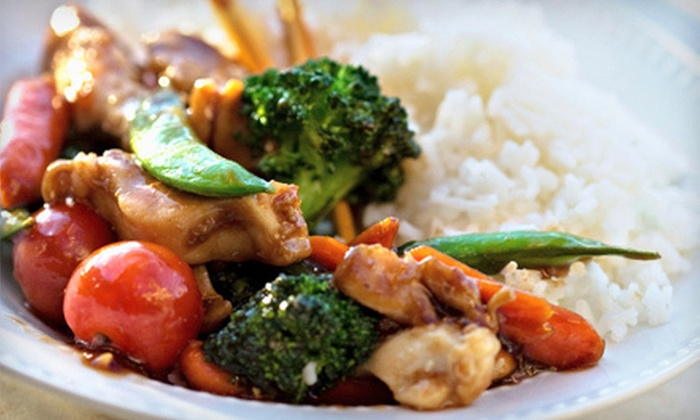 Magic Wok - Columbia: Asian Dinner or Lunch at Magic Wok (50% Off)