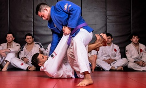 Cavalo Brazilian Jiu-Jitsu: One-Month of Kids or Adult Beginners Fundamentals Classes at Cavalo Brazilian Jiu-Jitsu (Up to 67% Off)