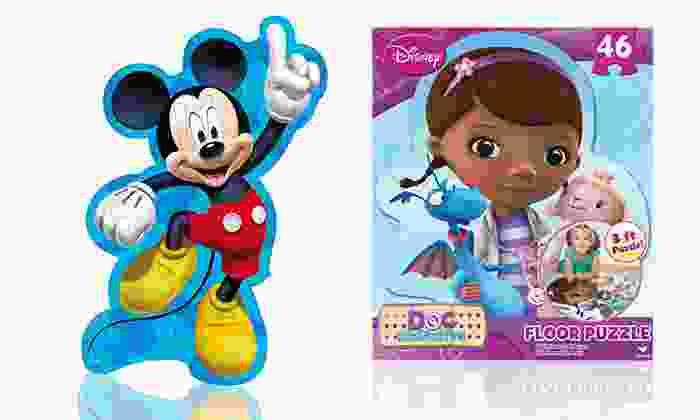 """Children's Character 24""""x36"""" Floor Puzzle: Children's Character 24""""x36"""" Floor Puzzle. Multiple Themes Available."""