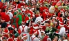 Running of the Santas - Multiple Locations: Running of the Santas Pub Crawl  for Two or Four on Saturday, December 20 (Up to 51% Off)
