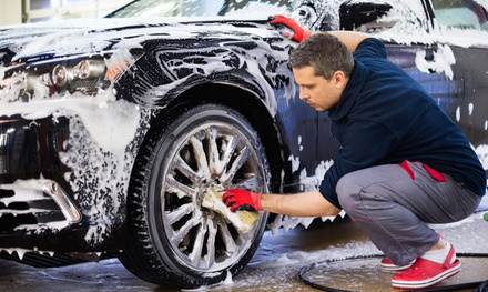 Exterior Wash ($10.95) or Wash and Polish with Coffee ($33), or Full Detail ($159) at Glitz Hand Car Wash (Up to $300)