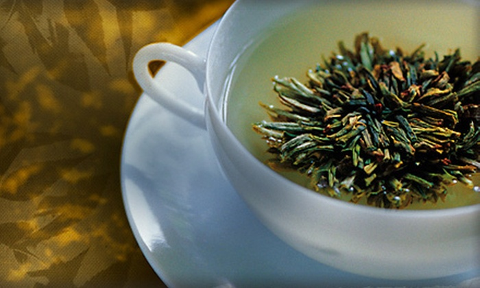 Wystone's World Teas - South Alameda: Gourmet Tea Pairing for Two or Four with Tea-Infused Champagne at Wystone's World Teas in Lakewood (Up to 54% Off)