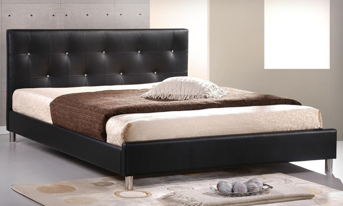 Modern Upholstered Queen and King Beds: Modern Upholstered Queen and King Beds (Up to 53% Off). Multiple Styles Available.