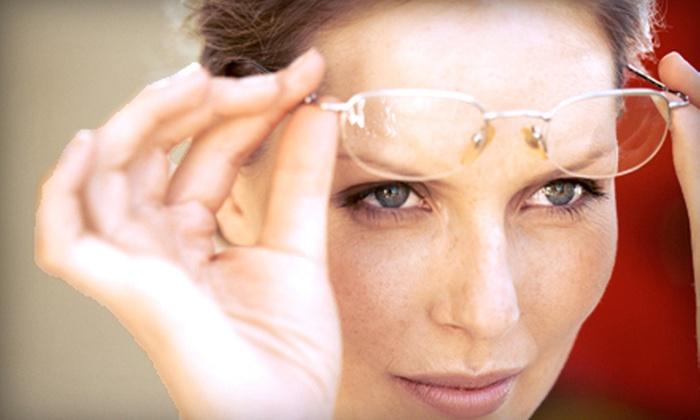 Eyes on 34th - Eyes on 34th: $24 for $225 Toward Prescription Glasses and Prescription Sunglasses at Eyes on 34th