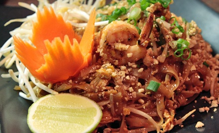 $19 for a Thai Dinner for Two at Thai Star Hoshi (Up to $39.85 Value)