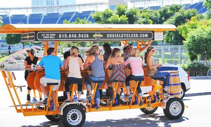 image for One, Two, or Four Pedal-Pub Tours from Social Cycle —Santa Barbara Location (48% Off)