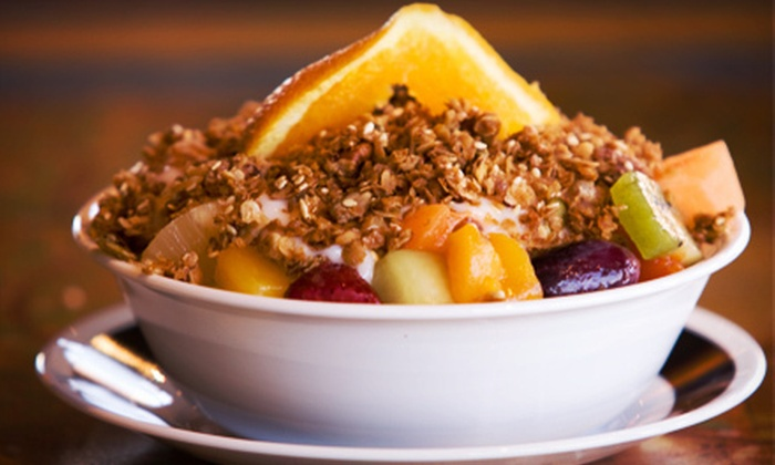 The Marmalade Cat Cafe - South Pandosy - K.L.O.: Breakfast and Lunch Sandwiches and Salads for Two or $5 for $10 Worth of Baked Goods at The Marmalade Cate Café