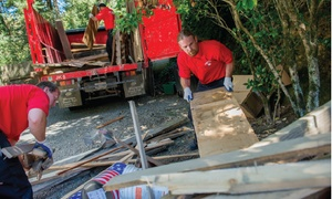 Junk Removal: $89 for Three Cubic Yards of Junk Removal from Junk King ($178 Value)