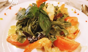 Firenze Ristorante: $59 for Italian Meal for Two with Appetizers, Entrees, and Champagne at Firenze Ristorante (Up to $146 Value)