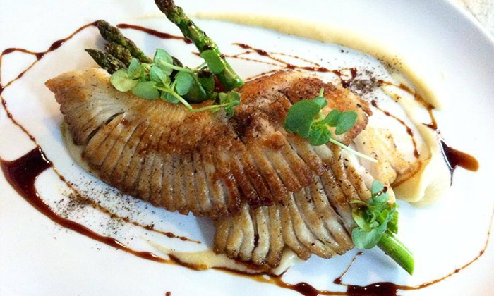 Taita Restaurant - Omaha: $24 for $40 Worth of Seafood and Global Cuisine for Two at Taita Restaurant