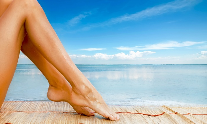 Spa of Argos - Oswego: One or Two Custom Spray Tans at Spa of Argos (Up to 54% Off)