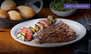 Logan's Roadhouse : $15 for $25 Worth of Southern-Style Steak-House Cuisine for Two or More at Logan's Roadhouse
