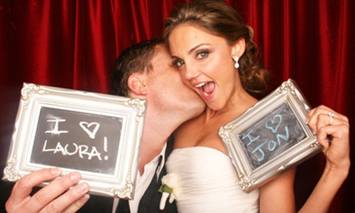 Foto Cabina - Southeast Anaheim: Two- or Four-Hour Photo-Booth Rental with Props, Attendant, and Image Disc from Foto Cabina (Up to 59% Off)