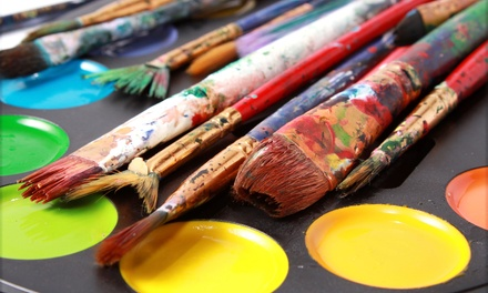 One, Two, or Five Adult Painting Classes at The Studio (Up to 50% Off)