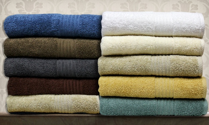 Spa Collection 6-Piece Egyptian-Cotton Towel Set: $29.99 for a Spa Collection Egyptian-Cotton Towel Set ($76 List Price). Multiple Colors. Free Shipping and Returns.