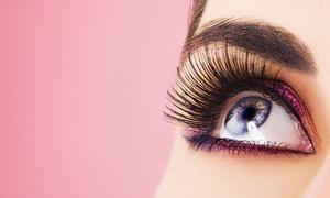 excellent nail & cosmetic Schwabing: Wimpernverlängerung im 3D-, Natural- oder Glamour-Look bei excellent nail & cosmetic Schwabing (bis zu 73% sparen*)