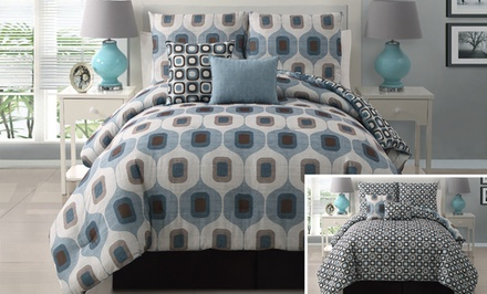 Tiberius Reversible 5-Piece Comforter Set from $79.99–$89.99