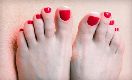 30- to 60-Minute Pedicure with Gelicure Polish (a $55 value) - Body Essentials Wellness Spa in Calgary