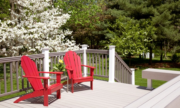 Heritage Painters - London, ON: Deck Power Washing or Sealing from Heritage Painters (Up to 69% Off)