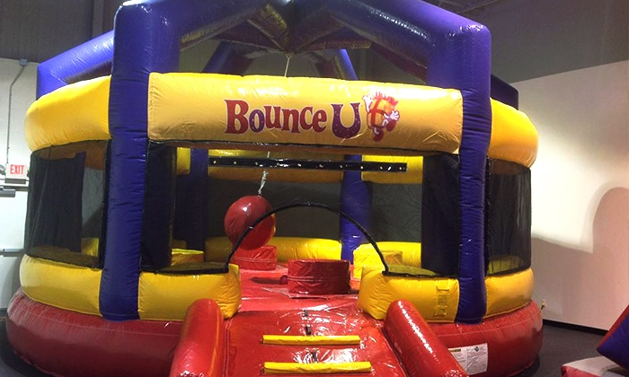 BounceU - Troy: Five Open-Bounce Sessions or a Two-Hour Party Package for 25 at BounceU (Up to 62% Off)