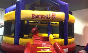 BounceU: Five Open-Bounce Sessions or a Two-Hour Party Package for 25 at BounceU (Up to 62% Off)