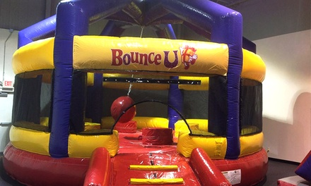 Five Open-Bounce Sessions or a Two-Hour Party Package for 14 at BounceU (Up to 62% Off)