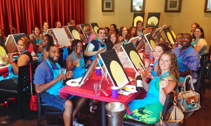 The Createry - Charlotte: Painting Party for One or Two (Up to 53% Off)