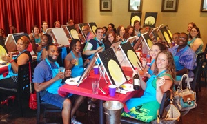The Createry: Painting Party for One or Two (Up to 53% Off)