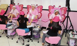 Mommy & Me Salon: Pamper Me Package, Mommy and Me Package, or Princess Package at Mommy & Me Salon (Up to 55% Off)