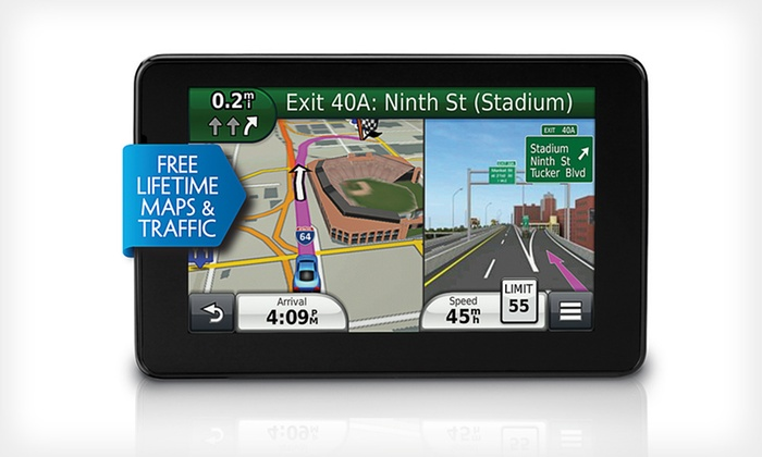 "Garmin 3590LMT 5"" GPS with Lifetime Maps and Traffic: Garmin 3590LMT 5"" GPS (Manufacturer Refurbished). Free Returns."
