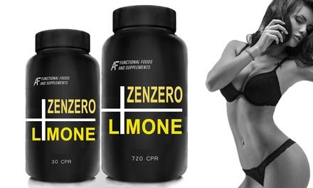 Fino a 720 compresse sciogli grasso al gusto di zenzero e limone A.I.F.