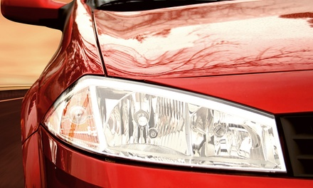 $25 for One Deluxe Clear Coat Headlight Restoration at Van Goes in Midvale ($119 Value)