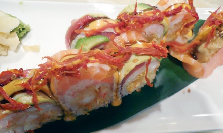 Hibachi for 2 or 4 or Asian Cuisine for Dine-In or Carry-Out at Bushido Asian Restaurant and Bar (Up to 42% Off)