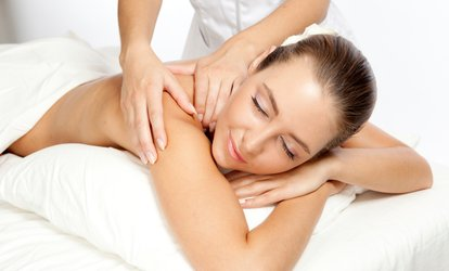 Mini Facial with Back Neck and Shoulder Massage at Relax-zation (42% Off)