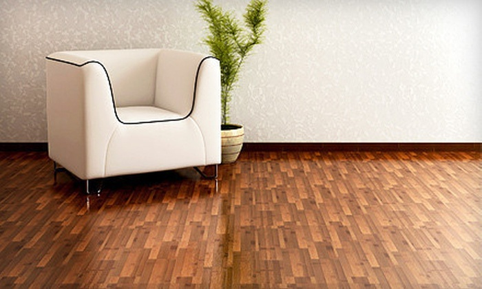 T & M Flooring Service - Lily Cache: $499 for 500 Square Feet of Hardwood-Floor Refinishing from T & M Flooring Service ($1,000 Value)