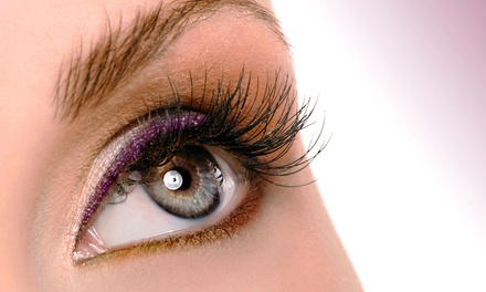 Full Set of Eyelash Extensions With or Without Three Fills at Studio 91 (66% Off)