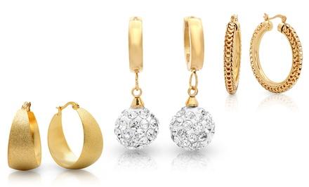Fashion Hoop Earrings from $14.99–$21.99