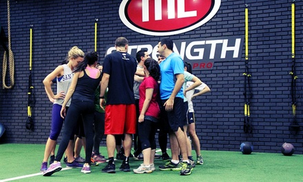 10 or 20 Boot-Camp Classes at ML Strength (Up to 77% Off)