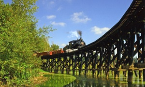 BC Forest Museum: Visit for Two Adults or Family of Up to Two Adults and Three Kids at BC Forest Discovery Centre (Up to 55% Off)