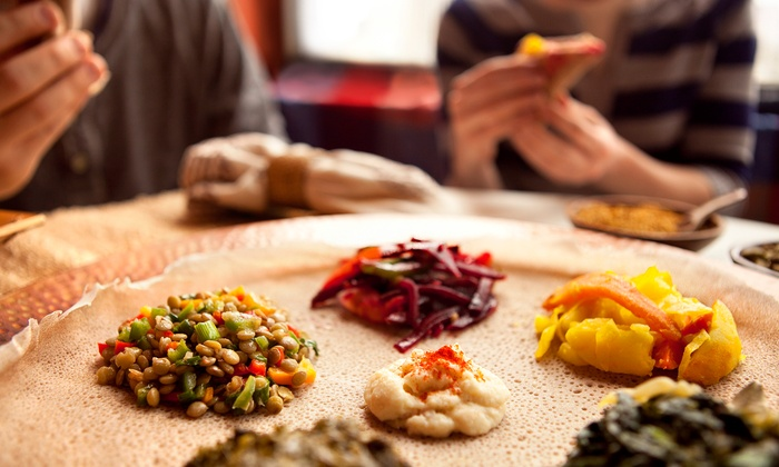 Lalibela Ethiopian Restaurant - Toronto: C$15 for C$30 Worth of Ethiopian Cuisine and Drinks at Lalibela Ethiopian Restaurant