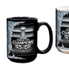 LA Kings 2014 Stanley Cup Champions 15oz. Black & White 2-Pck Mug Set