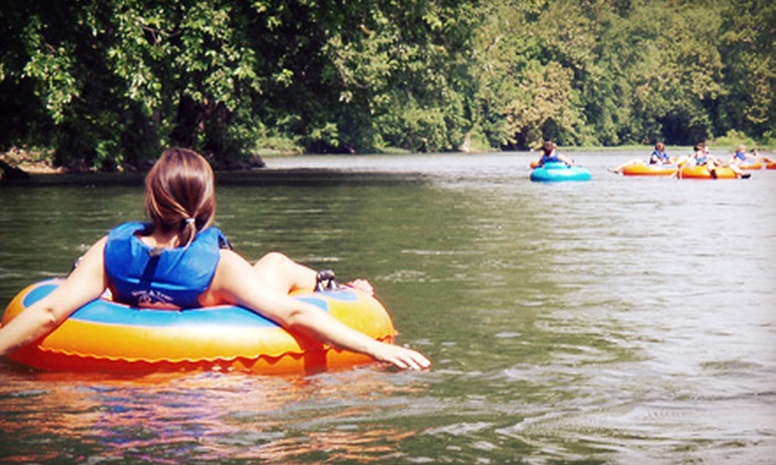 River & Trail Outfitters - Knoxville: Kayaking or Canoeing, Tubing, and Biking for One, Two, or Four from River & Trail Outfitters (Up to 55% Off)