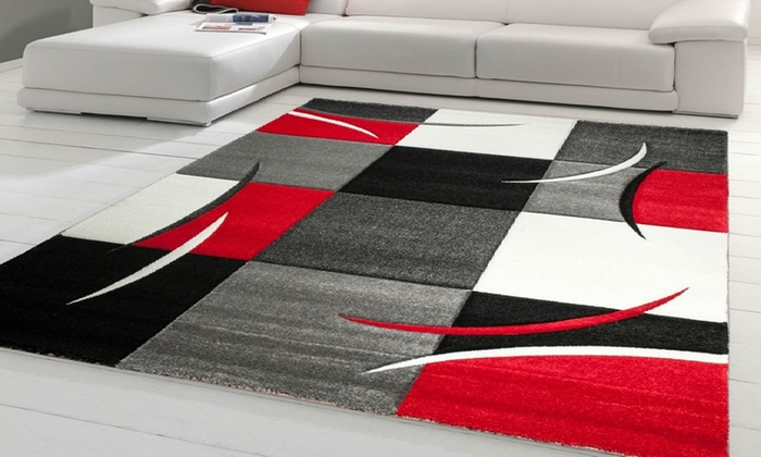 tapis graphique groupon shopping. Black Bedroom Furniture Sets. Home Design Ideas
