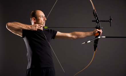 Intro to Archery Lesson for Two or Four with Equipment and Practice Time at Archery Headquarters Academy (Up to 51% Off)