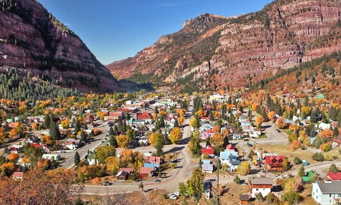 Ouray Mountain Vacations - Ouray, CO: 1- or 2-Night Stay with Optional Hot Springs Passes at Ouray Mountain Vacations in Colorado