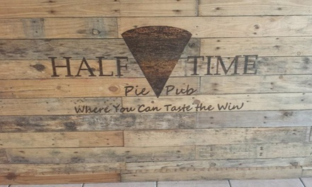 Up to 50% Off Dine-In for up to Four people at Half Time Pie Pub