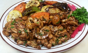 Kabob Castle: $12 for Two Groupons, Each Good for $10 Worth of Middle-Eastern Food at Kabob Castle ($20 Total Value)